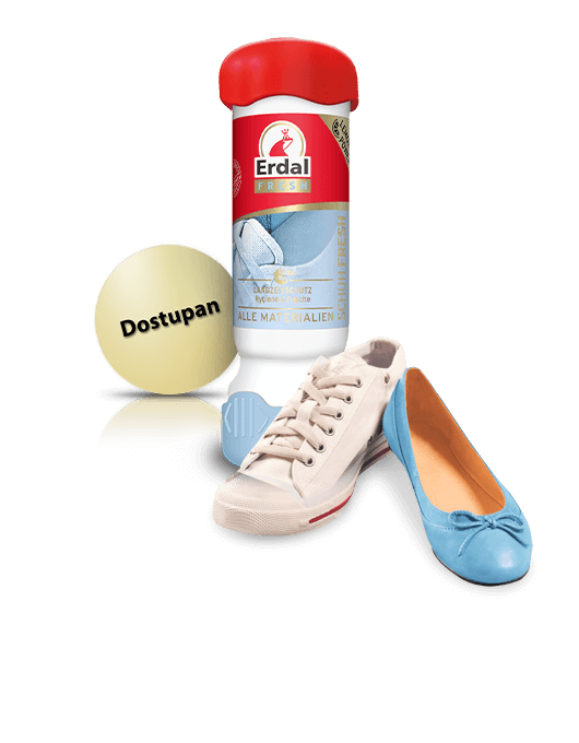 Novi Deo za obuću s <br>dugotrajnom zaštitnom formulom